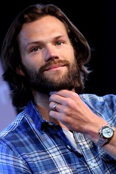 """mostly10: """"  Jared Padalecki (6), Saturday morning J2 panel. JIB7, 2016. photography by nell/mostly10 edit? credit! ♥ """""""