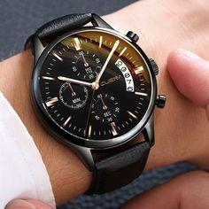Le design : Malgré le design moderne, voire avant-gardiste de cette montre, elle possède toutes les qualités d'une horloge suisse : harmonie et perfection. Son style repose sur la couleur sobre, agrémenté des lignes dégradées qui forment les chiffres. Des chronomètres à minutes, secondes et dixième de secondes sont à la disposition du porteur pour l'aider à mesurer ses performances au sport ou pour d'autres situations. Casual Watches, Cool Watches, Watches For Men, Elegant Watches, Cheap Watches, Popular Watches, Modern Watches, Army Watches, Sport Watches