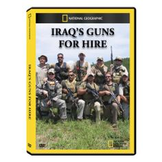 Iraq's Guns for Hire DVD Exclusive | National Geographic Store. $11.95