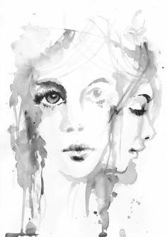 WOMAN PORTRAIT by Nicolas GOIA