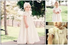 LOLA. 1T to 6Y.Toddler.Girl.Ivory lace by Moniquesthingsshop