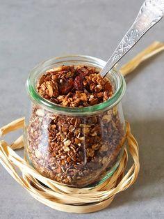 smakołyki alergika: granola pierniczkowa