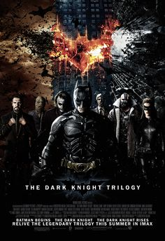 My inner Batman/Dark Knight fan in me stood out in this poster!