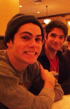 Dylan O'Brien ) & Tyler Posey