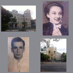 Meu pais era estudado Colégio Coração Sagrado e   Colégio Arnaldo