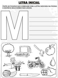 Lista de Palavras - Alfabeto. - Aprender e Brincar