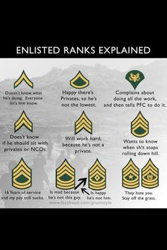 Army humor - How True! Army Ranks, Military Ranks, Military Spouse, Military Life, Military Girlfriend, Military Art, Military Relationships, Military Insignia, Military Wedding