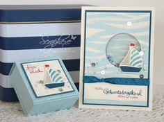 Maritimes Geschenkset, Swirly Bird, scraphexe.de - Translation pops up at right top corner.