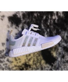 396aab3ee316e Adidas NMD Crystals White Grey Trainers Cheap Adidas Nmd