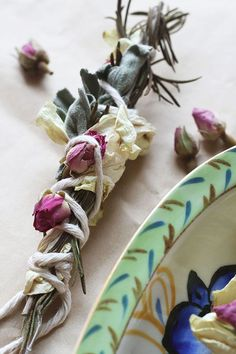 Make your own DIY Smudge Sticks with herbs and flowers and enjoy a rustic aroma that's calming and pleasant.