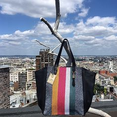 """The last bag """"Cabas Rayas""""... (now sold out) !"""