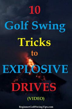 Explosive Golf Drives - Beginner Golf Swing Tips Golf Tips For Beginners, Golfers, Pinterest Board, Shots, How To Get, Teaching, Simple, Learning, Education
