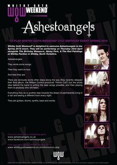 Ashestoangels - WGW 2015 Spring