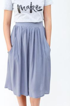 Brumby skirt sewing pattern