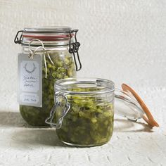 Gurken zucchini relish i ve tried this best recipes recipes and i made my first recipe! Chutneys, Vegan Vegetarian, Vegetarian Recipes, Zucchini Relish, Cucumber Recipes, Lunch To Go, Meals For One, Pesto, Mason Jars