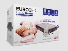 EuroBed - Luxury Air Mattress on Packaging of the World - Creative Package Design Gallery