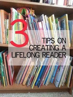 3 things you can do to help your kids LOVE reading.