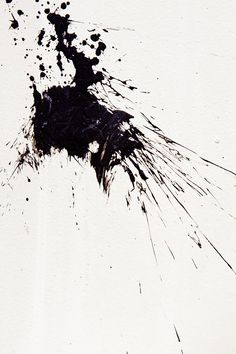 Black 黒 kuro nero noir preto ebony sable onyx charcoal obsid Trash Polka Elements, Black And White Painting, Black And White Abstract, Manchas Vector, Abstrakt Tattoo, 3d Texture, Monochrom, Paint Splatter, Mark Making