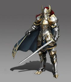 1360 best fantasy paladins knights images on pinterest character m paladin plate armor helm cloak sword midlvl publicscrutiny Gallery