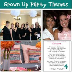 Number one is a breakfast at Tiffany's themed party. AWESOME!!!