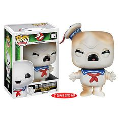 Pop ! Movies 109 - Ghostbusters Stay Puft Toasted Marshmallow Man (6'' Super Size Pop) | FunkoPop ! Movies 109 - Ghostbusters Stay Puft Toasted Marshmallow Man (6'' Super Size Pop) | Funko – Store – Duclos Toys | Action Figures | Collectibles | Geek Toys