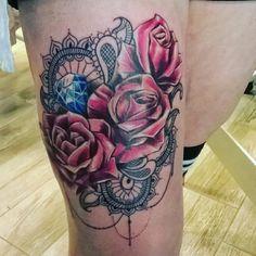 #rose #sweet #love #romance #tattoo #tattoos #tattooed #tattooartist #tattooart #tattooedgirls #tattoolife #tattoist #instaart #instatattoo #instagramanet #instatag #bodyart #tat #tats #tatts #ink #inked #inkedup