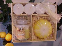 Bakery Candle Gift Set - Lemon Merinque - Candles