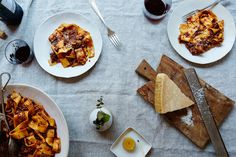 OMG this looks delicious.  s.h.    Genius Pork Shoulder Ragu (a.k.a. The Instant Dinner Party) on Food52