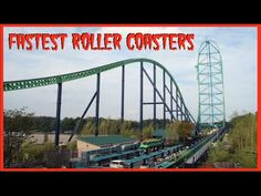Top 10 Fastest Roller Coasters In The World 2016