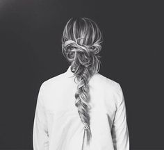 Beautiful Braids for Long Hair - Latest Hairstyles Braided hairstyles are so versatile and great way Messy Braids, Cool Braids, Braids For Long Hair, Braid Hair, Twist Braids, Good Hair Day, Great Hair, Messy Hairstyles, Pretty Hairstyles