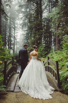 Fabulous forest wedding shoot | Colin Cowie Weddings