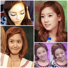 Korean braided hair style #SNSD