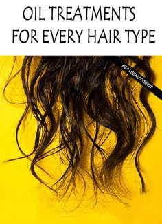 DIY hair oil treatments for your hair type - thinning hair, damaged hair, dry hair, hair fall, split ends....