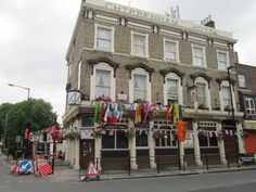 The Chippenham Hotel – The site where Joe Strummer of The Clash played his early gigs with his first band, The 101ers, and rehearsed above