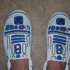 I'm going to do it....I have these cheap slipons that are begging for a makeover.  @Sharyn Kling  Whatcha think?
