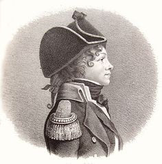 fuckyeahhistorycrushes:    Peter Willemoes, danish officer and quite the ladies man. Gained the status of hero after the battle of Copenhagen in 1801. Died in 1808 during a battle with the english.Curly hair and cute nose. What more can you ask for?