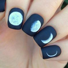 Lunar mansion Nail Art Design