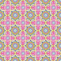 Paisleigh Starburst Pink  by Maude Asbury  by spiceberrycottage, $9.25 #fabric #sewing
