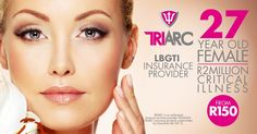 Find out why you need ‪#‎CriticalillnessCover‬ and the importance of the cover by calling Triarc on 021 810 5700 Reduce the potential financial impact of a ‪#‎Criticalillness‬ on your family and your future by getting R2 Million cover from R150 monthly. Get a quote online now by visiting http://www.triarc.co.za/life-insurance