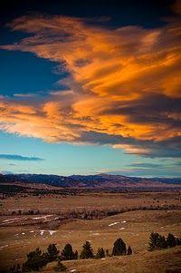 Gorgeous Boulder sunset pic from Jan 15, 2012 by John De Bord.
