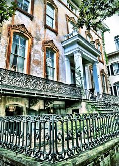 Restore, Restore, Restore Savannah is lined with buildings dating back to the mid-1800s, there are ongoing projects to preserve the remarkable architecture.