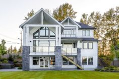 Plan Exclusive 4 Bed Modern Craftsman With Entertaining In Back Modern Craftsman, Craftsman Style, Modern Farmhouse, Farmhouse Ideas, Alternate Exterior, Walk In Pantry, Metal Roof, Great Rooms, House Plans