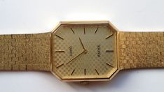 ON AUCTION ON SUNDAY 1 APRIL FROM 8pm..........MENS SEKONDA GOLD TONE QUARTZ WATCH SELLING AS SPARES OR REPAIRS