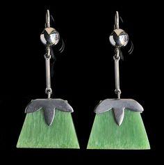 Art Deco Earrings - Tadema Gallery
