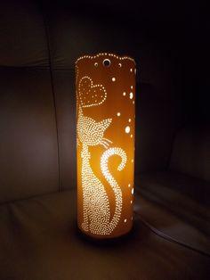 Luminárias em tubo de PVC.  Podemos personalizar!    **Coloração dada pela lâmpada. Todas as luminárias são na cor natural do PVC. (branca)
