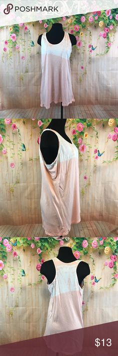 Bloom tank top Nice light weight tie dye tank top great for every day wear or yoga euc bloom Tops Tank Tops