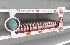 POP Design (Cosmetic products) on Behance Pos Display, Counter Display, Store Displays, Display Design, Rack Design, Pop Design, Visual Merchandising, Stop Rayon, Simulation 3d