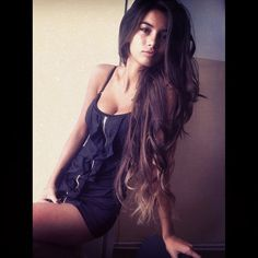 just waiting till my hair is this long