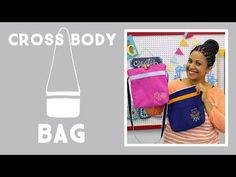 Cross Body Bag With Embroidery: Easy Craft Project with Vanessa of Crafty Gemini Creates - YouTube