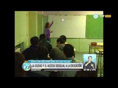 Visión 7 - La ciudad y el acceso desigual a la educación - YouTube